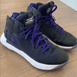 Under Armour Wardell SC basketball shoes sz 5Y